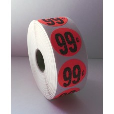"$.99 - 1.25"" Red Label Roll"