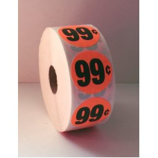 "$.99 - 1.375"" Red Label Roll"