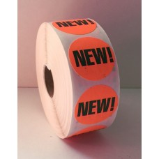 "New - 1.375"" Red Label Roll"