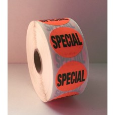"Special! - 1.375"" Red Label Roll"