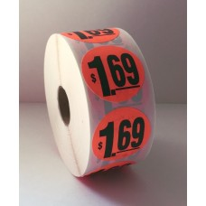 "$1.69 - 1.5"" Red Label Roll"