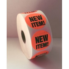 "New Item - 1.5"" Red Label Roll"