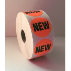 "New - 1.5"" Red Label Roll"