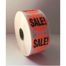 "Sale - 1.5"" Red Label Roll"