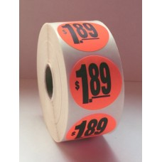 "$1.89 - 1.5"" Red Label Roll"