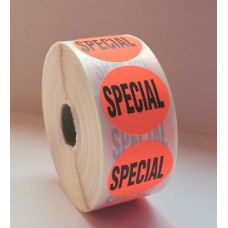 "Special! - 1.5"" Red Label Roll"