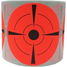 """3"""" Red Target Stickers"""