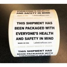 "2"" x 3"" Health & Safety Label"