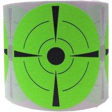"""3"""" Green Target Stickers"""